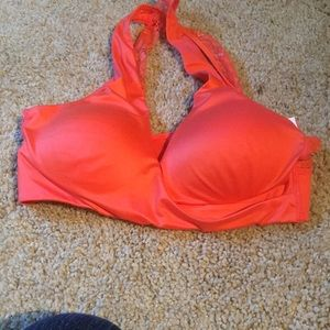Size small lace back lounge bra